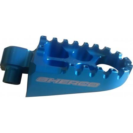 Pedaleira Azul para moto Sherco